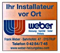 Weber Heizungsbau